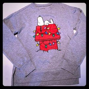 Christmas Snoopy sweatshirt